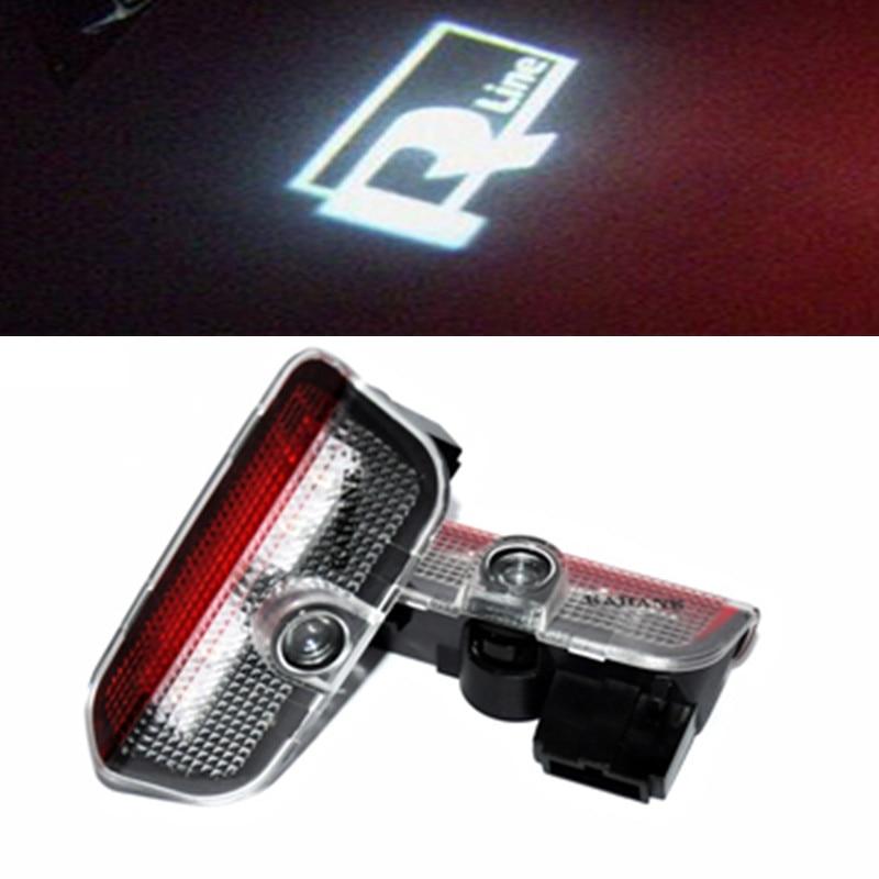 2PCS LED  Lamp Welcome Courtesy Logo Projector Shadow  Light  for VW Golf 5 6 7 Jetta MK5 CC Tiguan Scirocco Passat b6 b7<br><br>Aliexpress