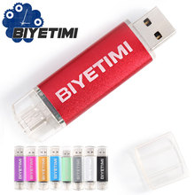 RBT Usb Flash Drive New Real High Speed Smart Phone OTG 8GB 16GB 32GB Memory Usb Stick 2.0 Pen Drive Pendrive For PC(China)
