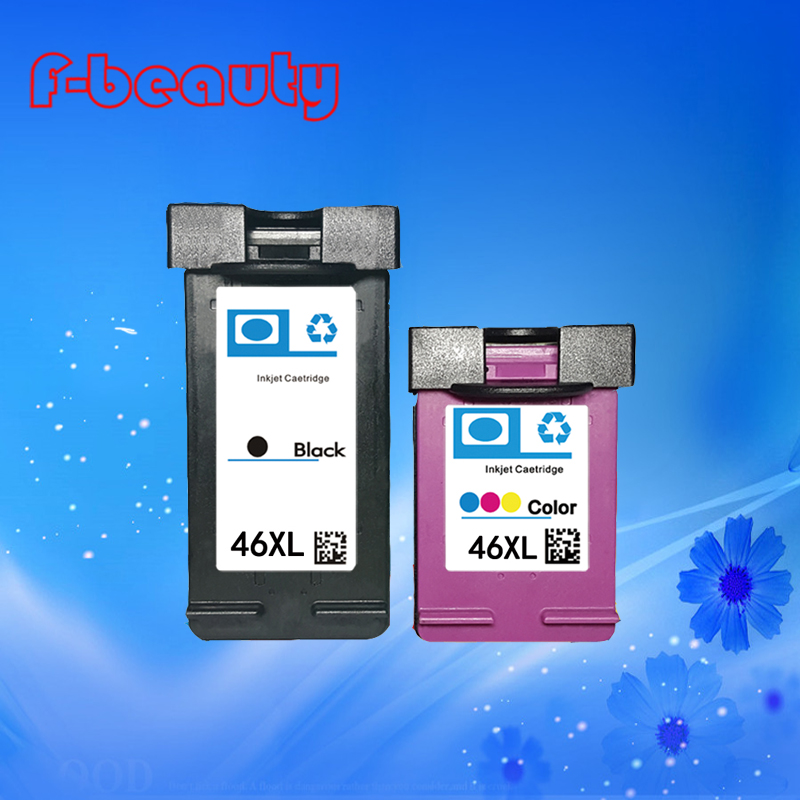 High quality HP46XL ink cartridge compatible for Hp 2020hc 2520HC 2025hc CZ637AA<br><br>Aliexpress