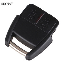 KEYYOU 2 Button Remote Car Key Fob Case Cover Shell For Opel/GM Free Shipping(China)