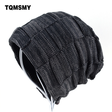 Classic Men skullies Winter hat women beanies Knitted wool hat Men's Hats keep warm Gorros Hip-Hop cap bone Women's Winter Hat(China)