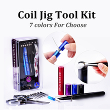 Magic Stick CW Coiling Kit 6 Size in 1 Coil Jig Coiler Heating Wire Wick Tool For DIY RDA RBA Wire Winding Tool Coil Wick Box