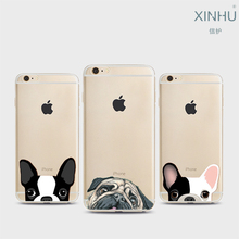 XINHU For Apple iphone 7 7plus case cute cats and dogs TPU Phone Case iPhone 6 6s 6pius case slim phone shell for iPhone shell
