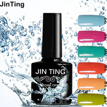 JinTing Nail Gel for Nail Art Full Set UV Gel Kit Manicure Colorful Gel Lacquer Special Offer Gel Nail Polish Choose 1 from 120(China)