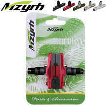 MZYRH Road Bike Folding Bike Cycling V Brake Holder Pads Replaceable Bike Pads Bicycle Rubber Brake Blocks 55mm Durable 470CV