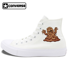 Mud Monsters Design Skateboarding Shoes Original Converse Chuck Taylor II 4 Colors Unisex High Top Canvas Sneakers