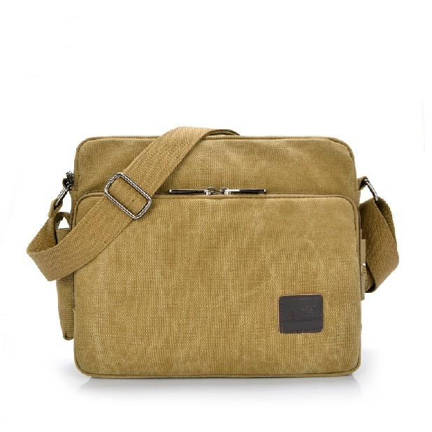 Mens bags fashionable multi-functional leisure canvas bag A man traveling bag Quality goods business package  shoulder bag<br>