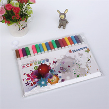Cloth DIY color painting pen Water is not fading  drawing graffiti personality creative marker pen Advanced color pen