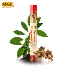 RAJ Authentic Indian Handmade Aromatherapy Fragrance Incense Sandalwood Incense Sticks Many Flavors One small Box