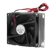 Newest Thermoelectric Peltier Refrigeration Cooling Cooler Fan System Heatsink Kit!!Best Selling and Best Quality !!!