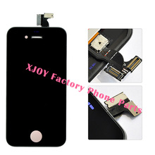 For iPhone 4S 4 LCD Display Touch Screen Digitizer Assembly Phone Replacement Parts Black White LCD For iPhone 4S LCD Screen(China)