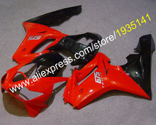 Hot Sales,For Triumph Daytona 675 ABS Plastic fairings red black 2006 2007 2008 Cowlings Daytona675 06 07 08 (Injection molding) - Professional Motorcycle Fairing store