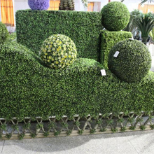 Lawn Plastic Grass Landscape decoration,Green plant background wall