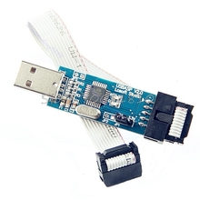 New For ATMEL AVR ATMega ATTiny 51 Development Board USB ISP Programmer  Drop Shipping