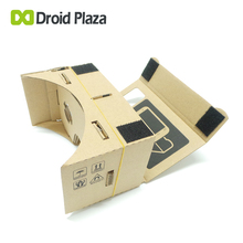 Google Cardboard 3D VR Glasses Virtual Reality Box V1 VR Goggles Rift for iPhone 6 Plus 4.7 5.5 6 inch Android iOS Smartphone