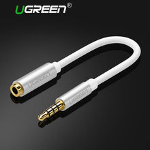 Ugreen Earphone Headphone Connector OMTP to CTIA Converter Cable jack 3.5mm Female to Male Adapter for samsung iPhone HTC  Nokia