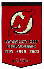 New Jersey Devils Stanley Cup Champions Hockey Banner Flag Polyester grommets 3' x 5' Custom metal holes Football Flag