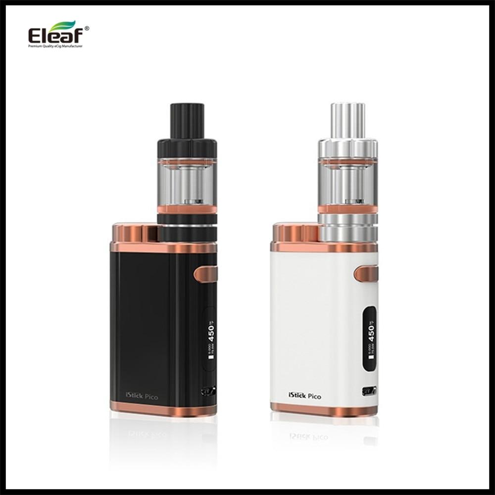 New Colors Electronic Cigarette iSmoka Eleaf iStick Pico Kit 75W Box Mod 2ML Melo 3 Mini vs 75W Pico VW/Bypass/TC/TCR Mode<br>