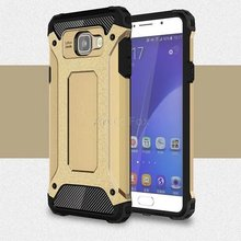Hybrid Dual Heavy Duty Armor Case Cover for Samsung GALAXY A7 2016 A710F A7100 A710 Back Cover Silicone+Plastic Phone Cases(China)