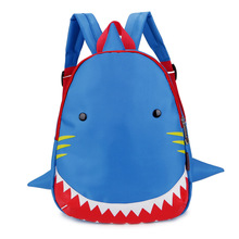 Kids Backpack Animal Bag for 1-3 Years Boys and Girls Toddler Shark Bag Kindergarten Children Cartoon School Bag