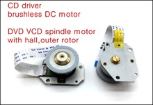 3PCS NEW CD driver brushless DC motor,DVD VCD spindle motor CD-ROM Motor with hall,outer rotor