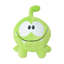 "1PC Kawaii 7""20cm om nom frog plush toys cut the rope Soft rubber cut the rope figure classic toys game lovely gift for kids(China)"