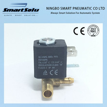 Free shipping Normally Closed N/C AC 240V G1/8' Brass Iron Steam Water 2 Position 2 Way Solenoid Valve(China)