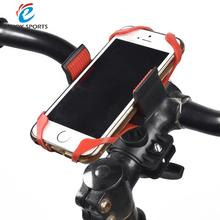 Universal GPS Holder Bicycle Motorcycle Silicone Band Black Red PC Best Bike Phone Mount Smartphone Handlebar Cell Phone Mobile