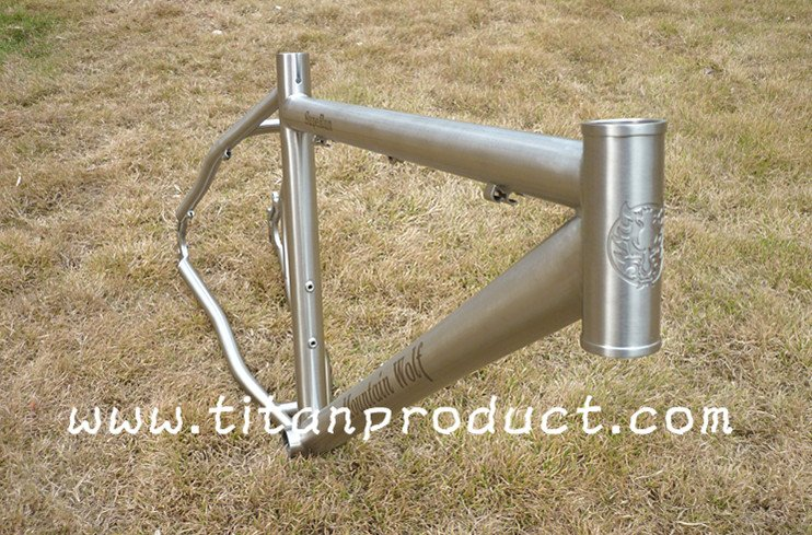 Titanium Bicycle MTB Frame(China)