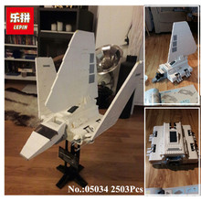 IN STOCK 2503 pcs LEPIN 05034  The Imperial Shuttle Building Blocks Bricks  Assembled Toys 10212