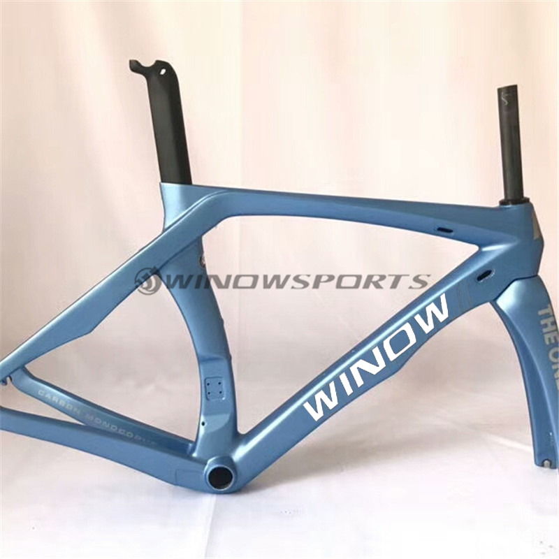 2018 Aero Road frame RB1K ONE T800 RB1000 Road carbon bicycle carbon road frametcarbon road bike frameset
