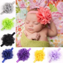 Fascinator menina flower chiffon Headbands headband headwear hair band