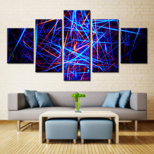 Fashion Artwork Painting Print on Canvas Best Room Decorations Abstract Wall Art Modular Pictures High Quality 5PCS Unframed