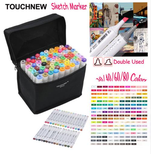 30/36/40/48/60/72/80 Animation Colors Touchnew Marker Pen Marking Pens Paint Marker Highlight Pen Colorful Painting Highlighting<br>