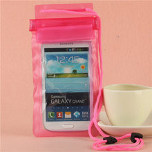 Waterproof Phone case  Water Proof Phone Bags For Iphone 6s 6 7 For Asus Zenfone  For Samsung Galaxy S3 S4 S5 S6 5.5 Inch