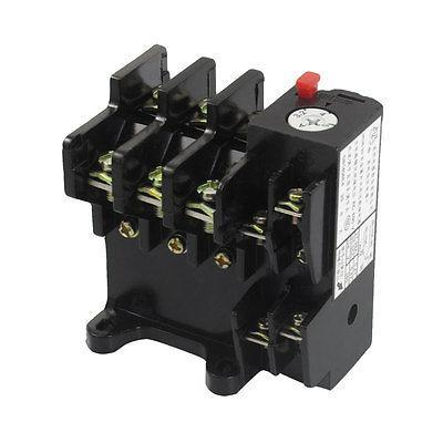 JR36-20 5Amp 3.2A-5A Adjustable 3 Pole Thermal Overload Relay 1NO 1NC<br><br>Aliexpress