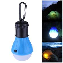 Buy 3 Modes Portable Camping Tent Soft Night Light Outdoor Campsite Hanging SOS Lantern Bulb Lamp Energy-saving Emergency Waterproof for $1.39 in AliExpress store