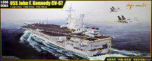 "Merit 1/350 scale model 65306 US Navy ""John F. Kennedy"" aircraft of carrier CV-67"