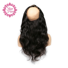 Slove Hair 360 Lace Frontal Closure Brazilian Body Wave Closure Free Part Remy Human Hair Pre Plucked Baby Hair For Black Women(China)