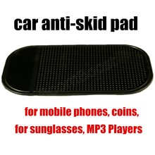 best selling for mobile phones coins sunglasses MP3 Players Automobile Car Anti-skid Pads Car Dashboard Skid Proof Mat(China)