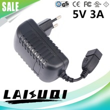 1pcs 5v 3a Usb Ac/dc Power Adapter Eu Plug Charger Supply 5v3a For Tablet Pc Mid Other LAISUQI New Hot Sale Real