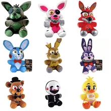 1pcs FNAF five nights at freddy Foxy  bear toy plush dolls stuffed animals plush fox toys