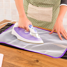 New 2016 Cloth Cover Protect Novetly Heat Resistant Ironing Pad Garment Ironing Board C1AN(China)