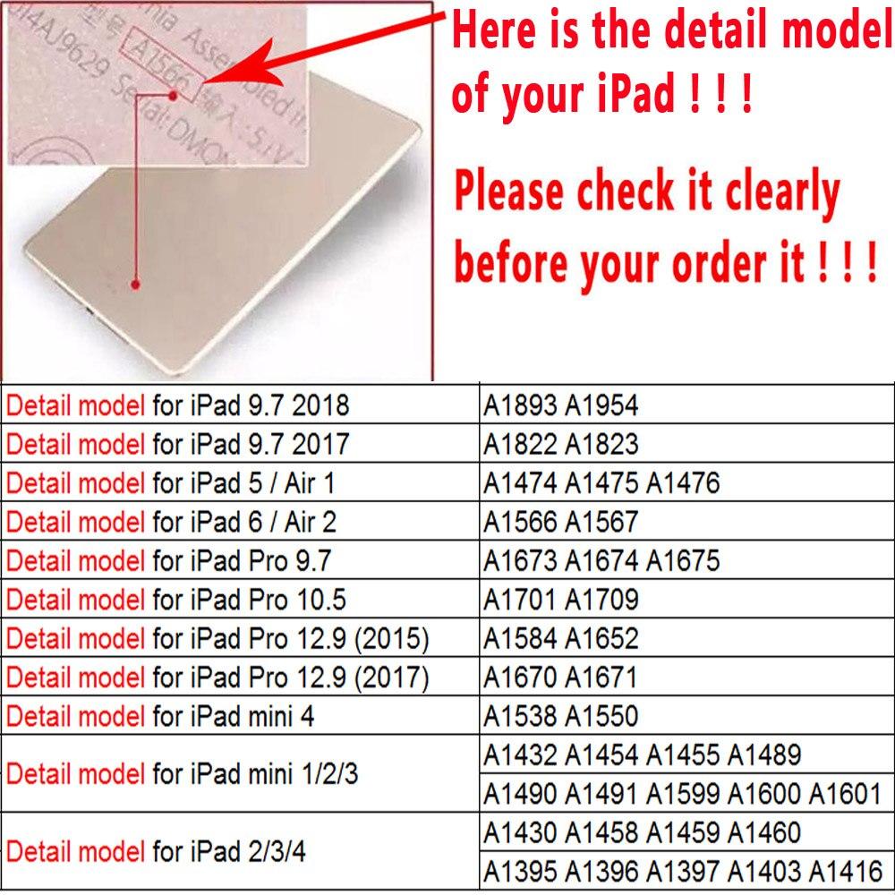 detail model of iPad