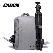 Fashion CADEN L5 DSLR Camera Bags Multifunction Shockproof Waterproof Bag Backpack School Travel for Canon Nikon DSLR Camera