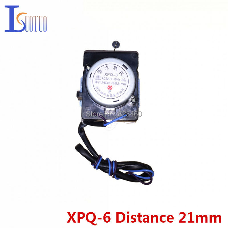 21mm distance of Original TCL washer tractor XPQ-6 automatic drainage motor drain valve retractor<br>