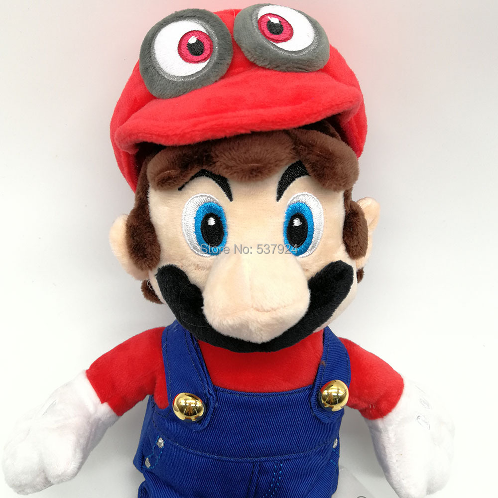 Mario with Odyssey Hat-8inch-140g-24.5-D