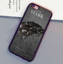 Cool Game of throne Poster Printed Mobile Phone Cases For iPhone 6 6S Plus 7 7 Plus 5 5S 5C SE 4S Soft Rubber Skin Back Cover