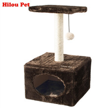 hot sale cat furniture for scratching pet tree animal products cat toy Cat Climbing Tree Cat Climbing Tower(China)