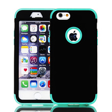 Rubber Heavy Duty Shockproof Hybrid Silicone PC Combo Case Cases for iPhone 6 6s Plus SE 5S 5 5C Back Cover